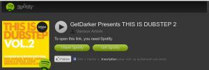 Spotify dubsetp pour dancer