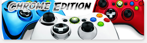 manette xbox360 chrome