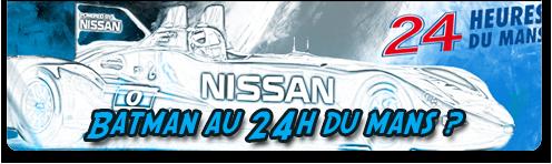 Nissan au 24h du mans 2012