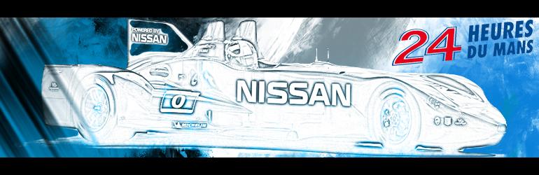 Une Nissan Batmobile au Mans ?