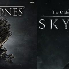 Game of Skyrim: le générique