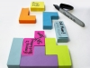 post-it tetris
