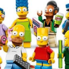 les nouvelles figurines LEGO Simpson